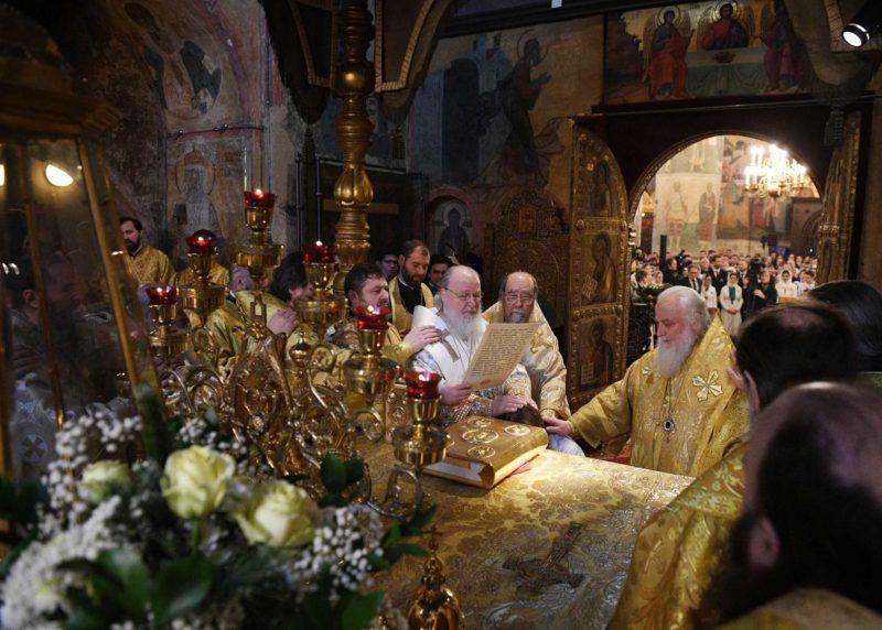 Хиротония архимандрита Зосимы (Балина) во епископа Азовского